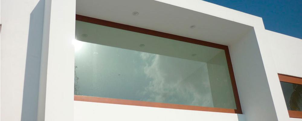 Ventanas fijas de aluminio for Modelos de ventanas de aluminio
