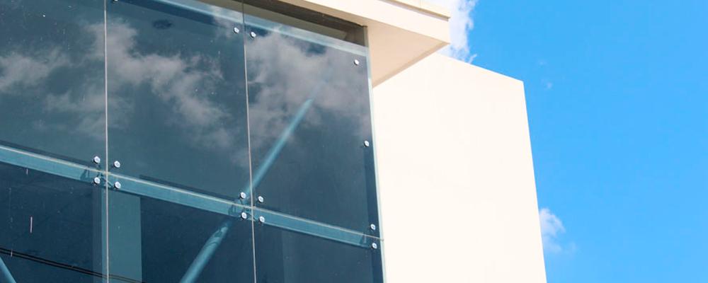 Fachadas sistema de ara a - Fachada de cristal ...